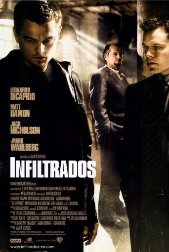 "Poster for the movie ""Infiltrados"""