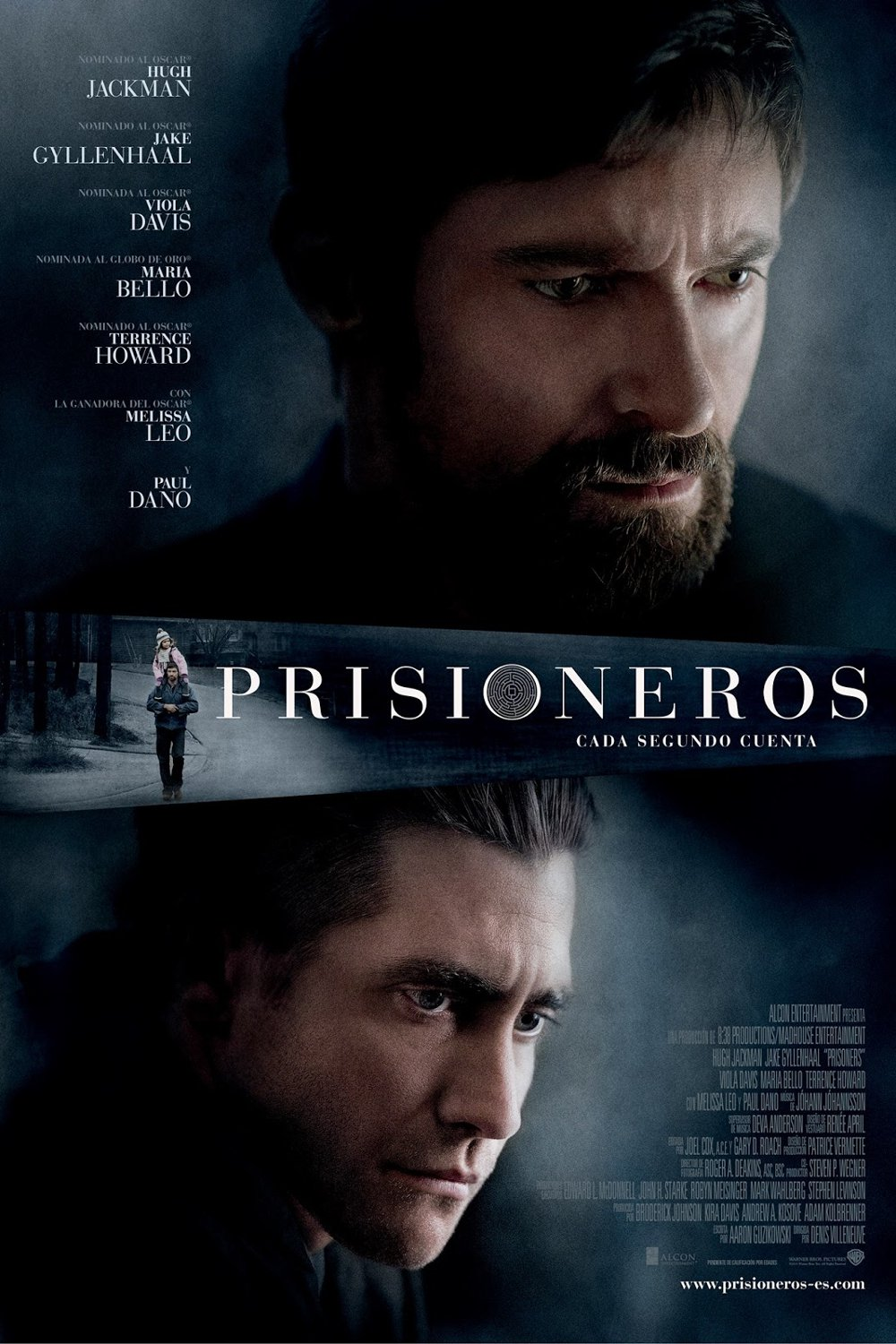 Poster for the movie «Prisioneros»