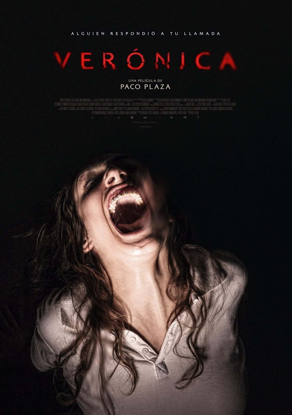"Poster for the movie ""Verónica"""