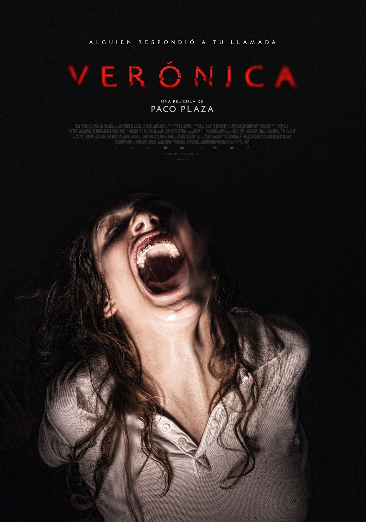 Poster for the movie «Verónica»