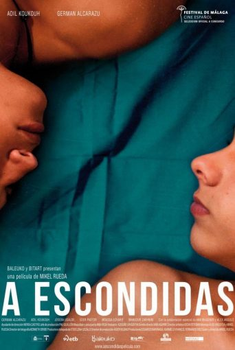 "Poster for the movie ""A escondidas"""