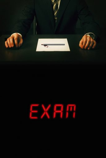 """Poster for the movie """"Examen"""""""