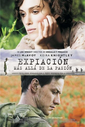 "Poster for the movie ""Expiación, más allá de la pasión"""