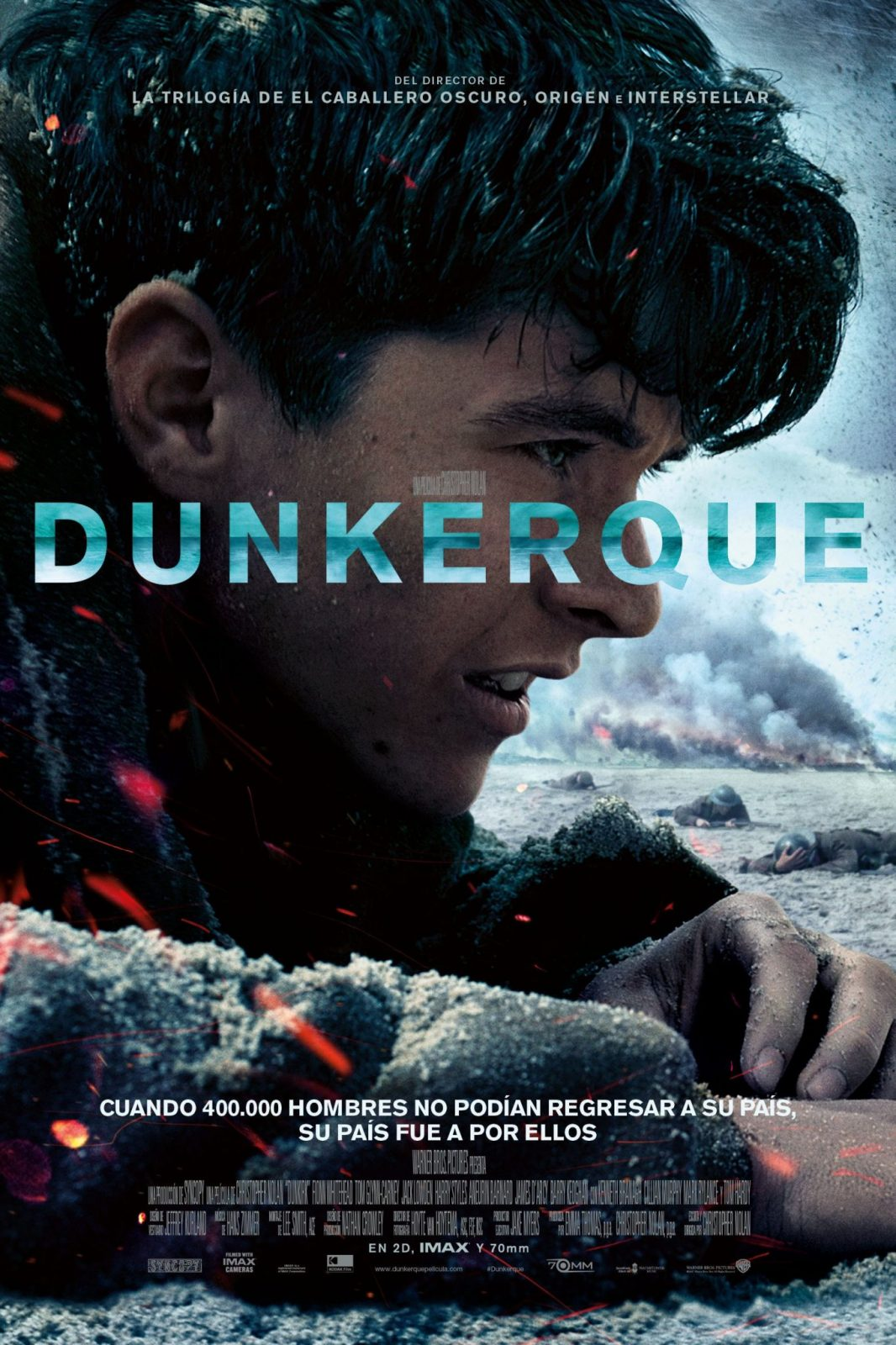 Poster for the movie «Dunkerque»
