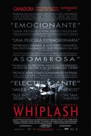 "Poster for the movie ""Whiplash"""