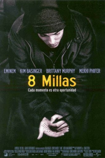 """Poster for the movie """"8 millas"""""""