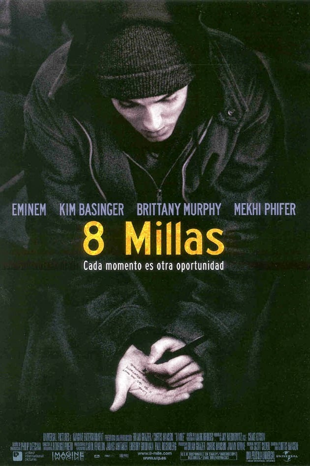 "Poster for the movie ""8 millas"""