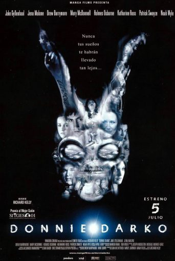 "Poster for the movie ""Donnie Darko"""