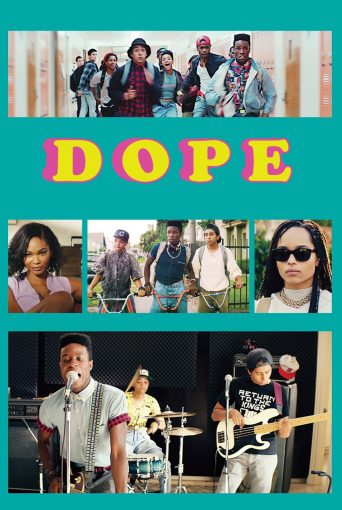 """Poster for the movie """"Dope"""""""