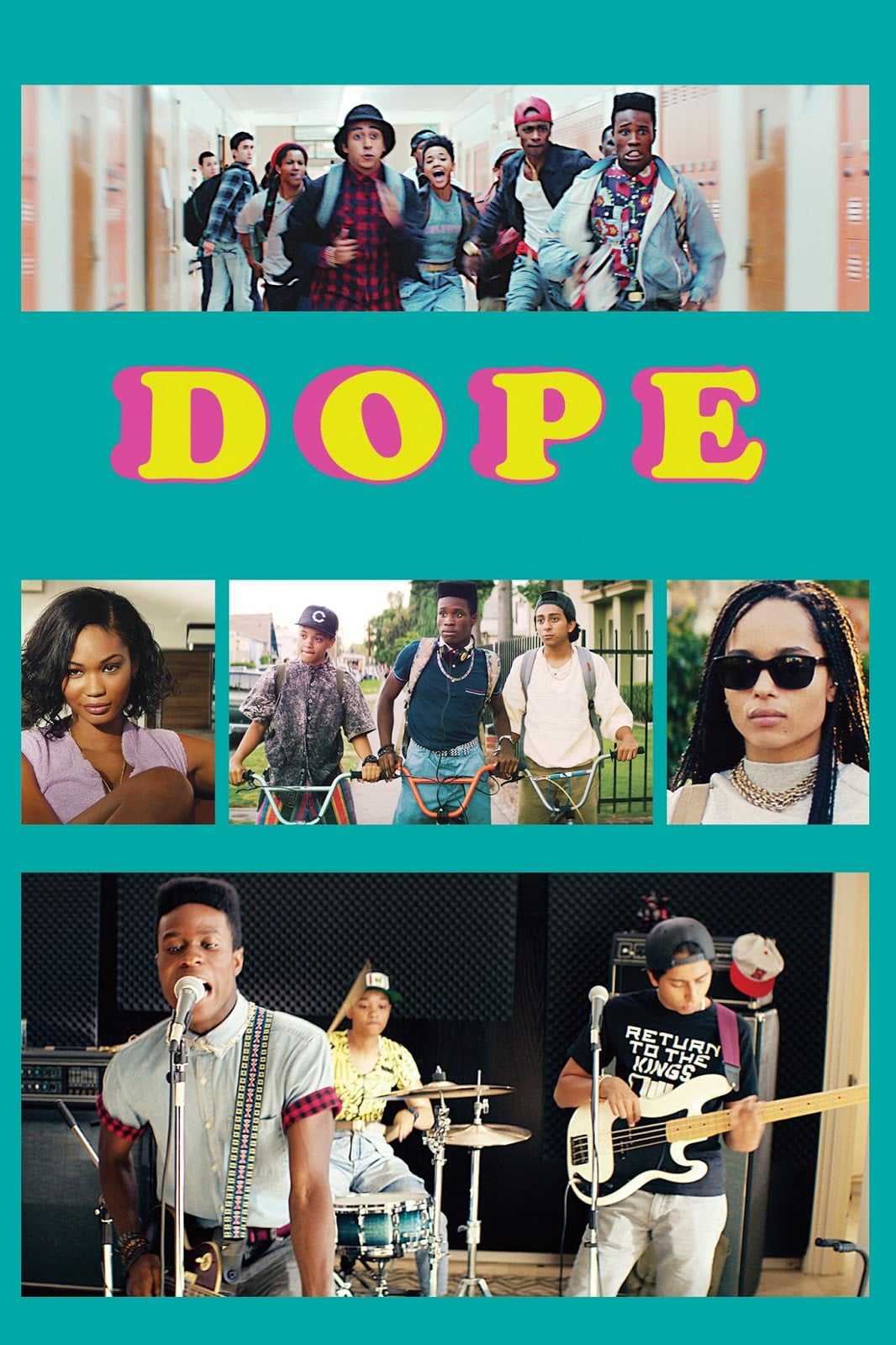 "Poster for the movie ""Dope"""