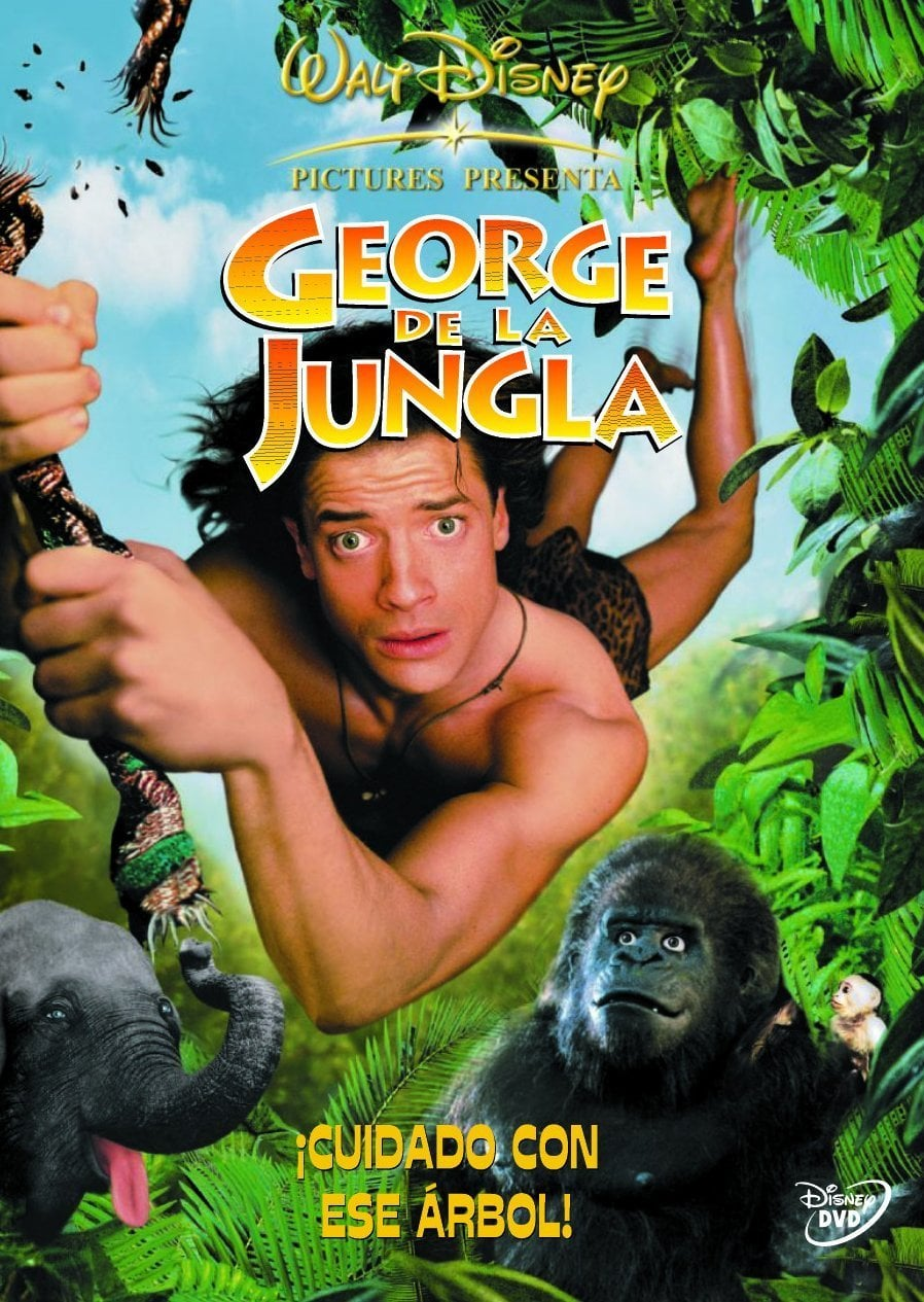 "Poster for the movie ""George de la jungla"""