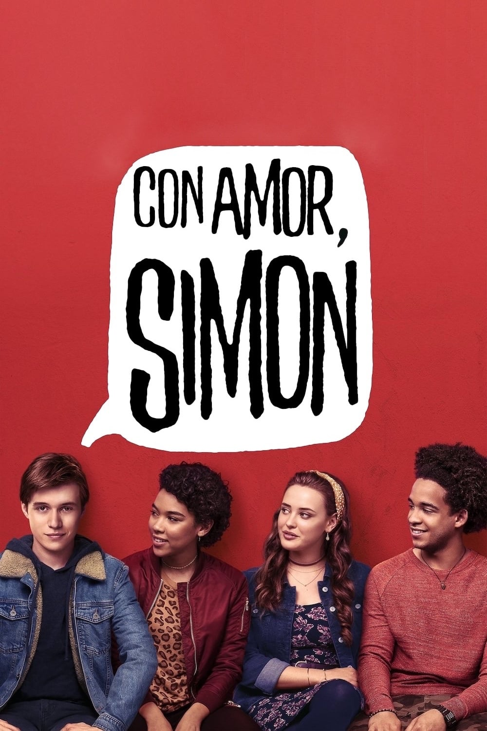 "Poster for the movie ""Con amor, Simon"""
