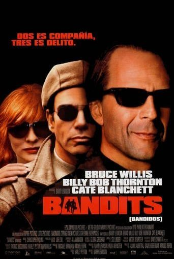 """Poster for the movie """"Bandits (Bandidos)"""""""