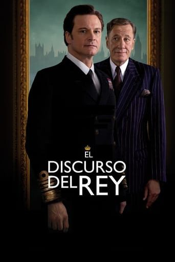 "Poster for the movie ""El discurso del Rey"""