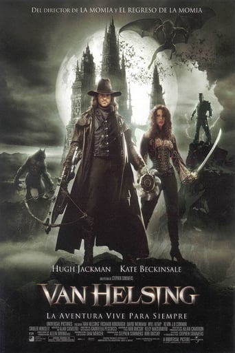 "Poster for the movie ""Van Helsing"""