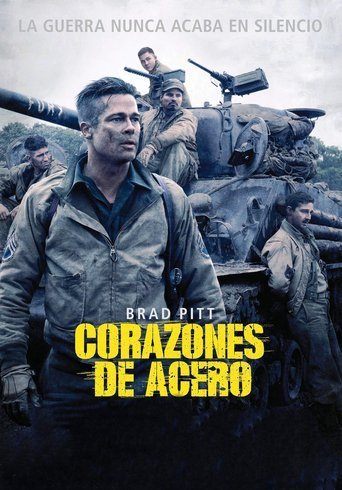"Poster for the movie ""Corazones de acero"""