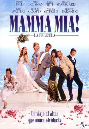 "Poster for the movie ""Mamma Mia! La película"""