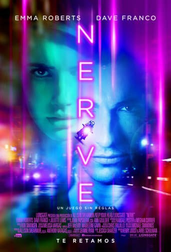 "Poster for the movie ""Nerve, un juego sin reglas"""