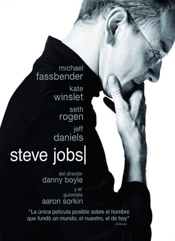 "Poster for the movie ""Steve Jobs"""