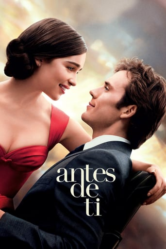"Poster for the movie ""Antes de ti"""