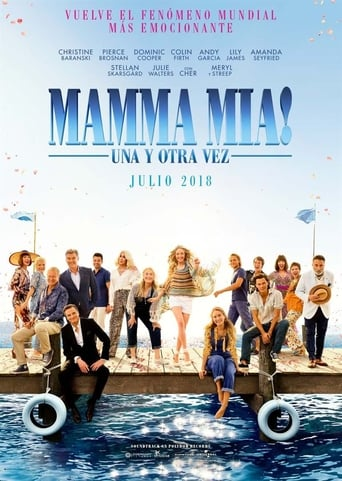 "Poster for the movie ""Mamma Mia: Una y otra vez"""