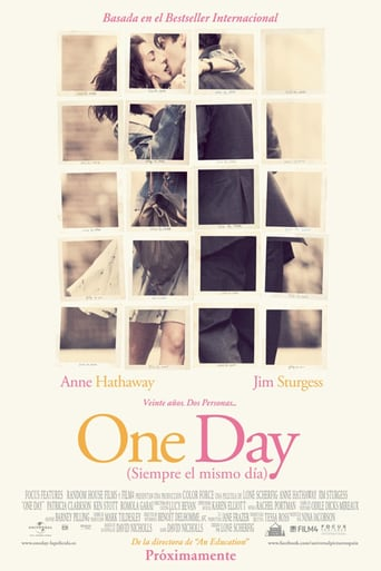 "Poster for the movie ""One Day (Siempre el mismo día)"""