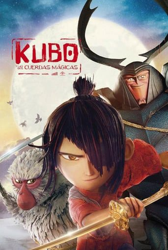 "Poster for the movie ""Kubo y las dos cuerdas mágicas"""