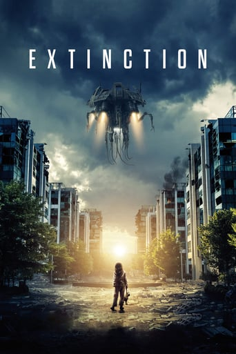 "Poster for the movie ""Extinción"""