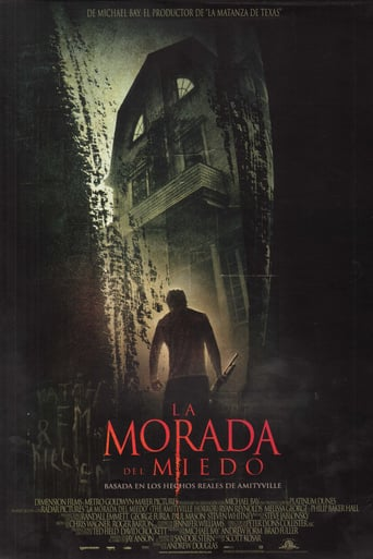 "Poster for the movie ""La morada del miedo"""