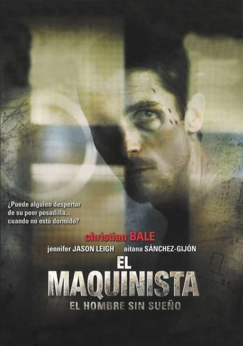 "Poster for the movie ""El maquinista"""