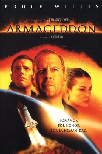 Poster for the movie «Armageddon»