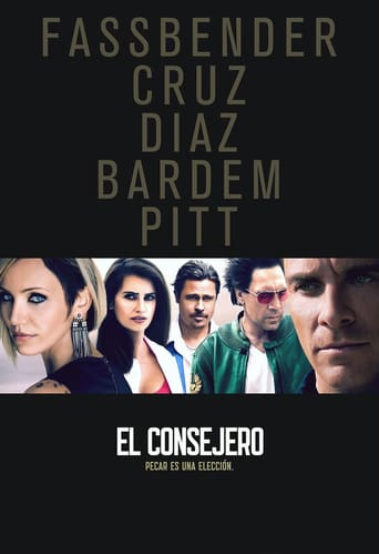 "Poster for the movie ""El consejero"""
