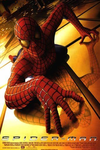 """Poster for the movie """"Spider-Man"""""""