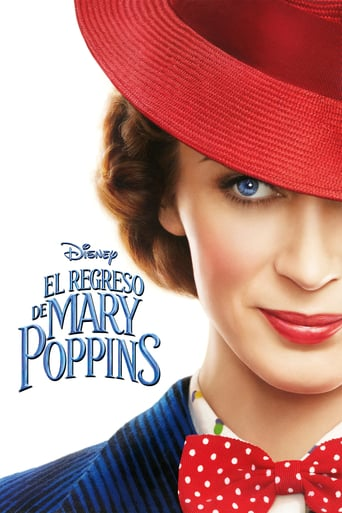 "Poster for the movie ""El Regreso de Mary Poppins"""