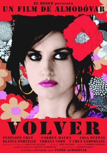 "Poster for the movie ""Volver"""