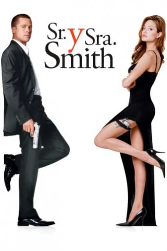 """Poster for the movie """"Sr. y Sra. Smith"""""""