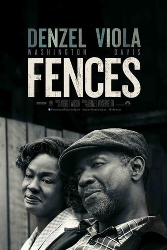 """Poster for the movie """"Fences"""""""