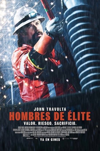 "Poster for the movie ""Hombres de élite"""