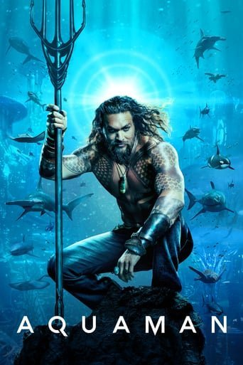 "Poster for the movie ""Aquaman"""