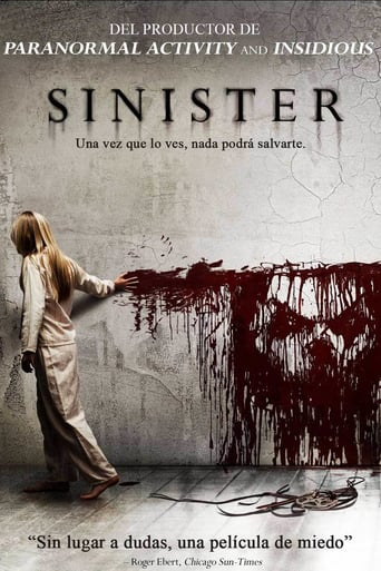 "Poster for the movie ""Sinister"""