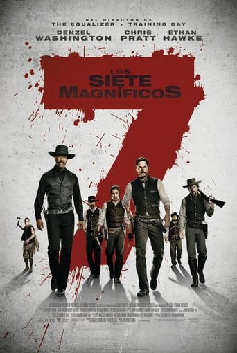 "Poster for the movie ""Los siete magníficos"""