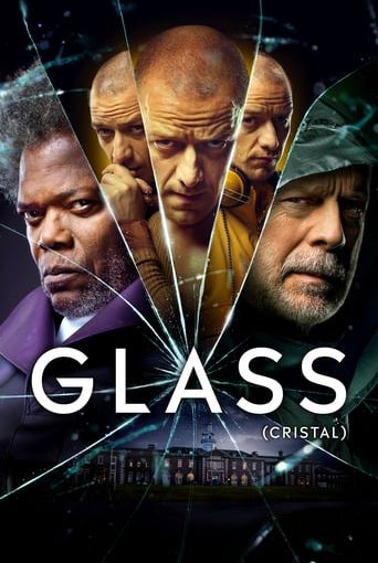 """Poster for the movie """"Glass (Cristal)"""""""