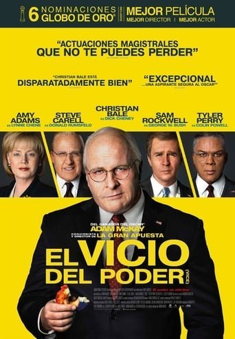 Poster for the movie «El vicio del poder»