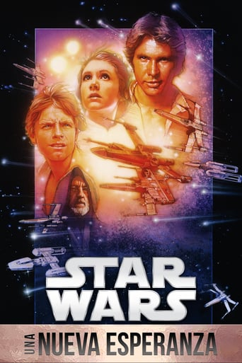 "Poster for the movie ""La guerra de las galaxias. Episodio IV: Una nueva esperanza"""