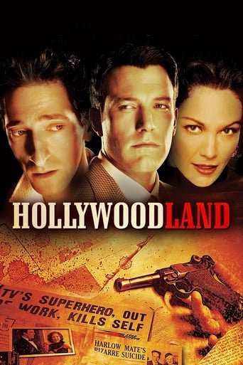 "Poster for the movie ""Hollywoodland"""