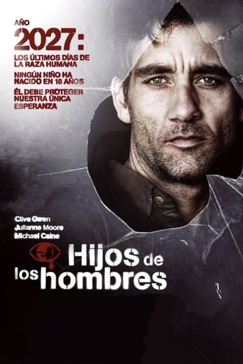 "Poster for the movie ""Hijos de los hombres"""
