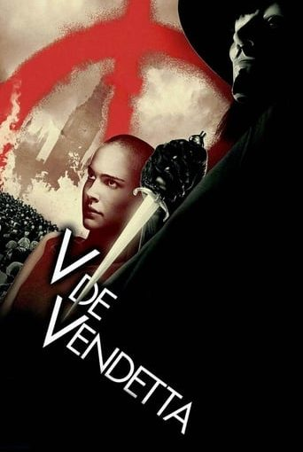 "Poster for the movie ""V de Vendetta"""