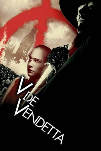 Poster for the movie «V de Vendetta»