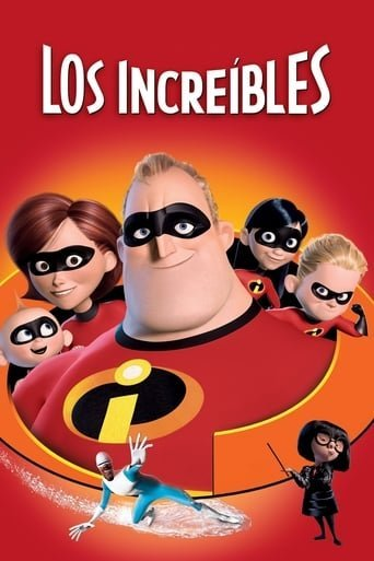 "Poster for the movie ""Los Increíbles"""