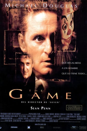 "Poster for the movie ""The Game"""
